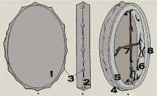 Как сделать обруч для бубна